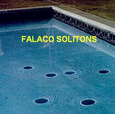 Falaco Solitons - Cosmic Strings in a Swimming Pool